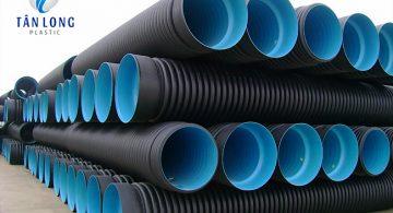 Ống Nhựa Gân Xoắn HDPE 2 Vách